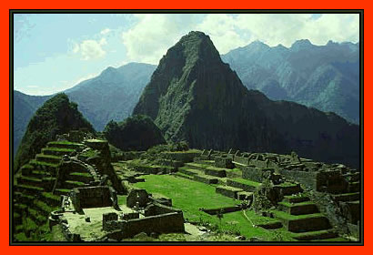 Would be awesome to see Machu Picchu.