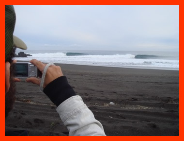 The Andes is two hours from the ocean. You can surf then snowboard. That will give you an indication of how cold it is.