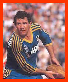 Old school Eels legend and south coaster Mick Cronin.