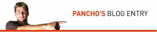 PANCHO'S BLOG