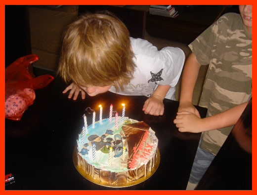 Also I had both my kids Max and Lucca having Birthdays. Always fun having the kids' parties …