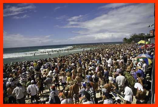 Quiksilver Pro Gold Coast Contest at Snapper