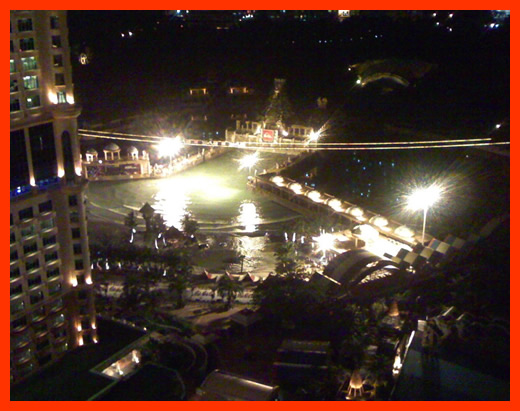 This is the play park from my hotel room. Sunway Lagoon, Malaysia.
