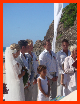 How good is a wedding on the beach!!! Lifetime friend Caruscy, gettin' hitched.