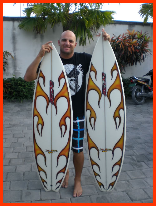 Expect to see these boards flying all over the place when the local Canggu kids get hold of them.